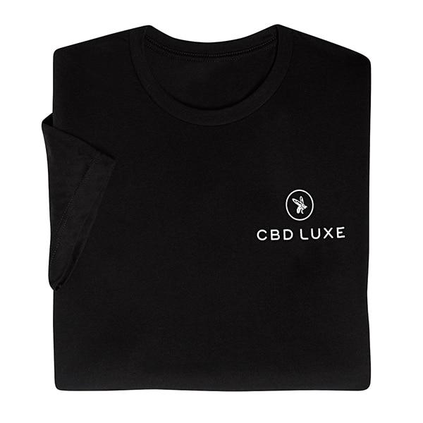 CBD LUXE T-Shirt black front