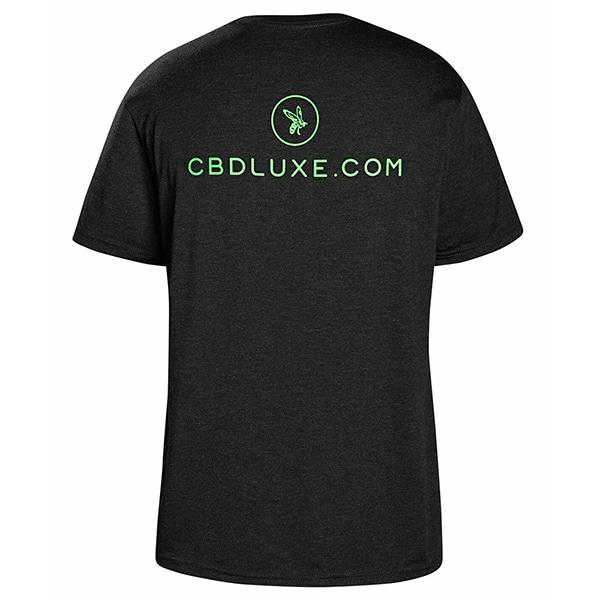 CBD LUXE T-Shirt grey back