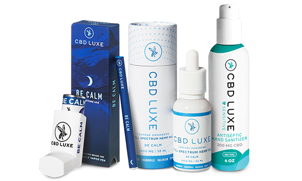 CBD LUXE Anxiety Pack