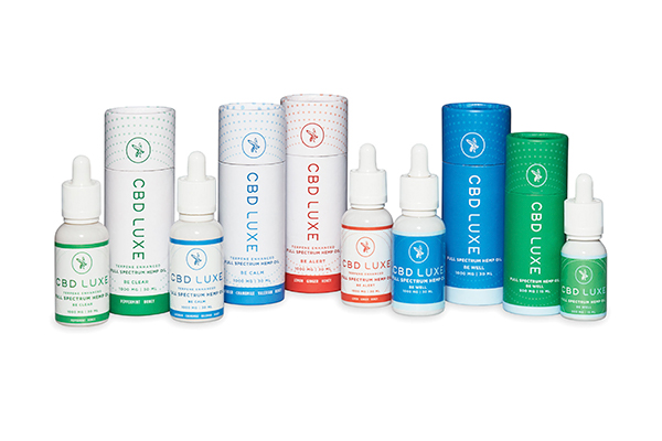 cbd luxe product group tinctures