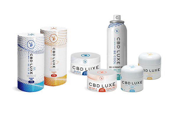 cbd luxe product group topicals