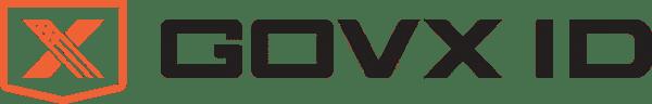 govx id logo orange black